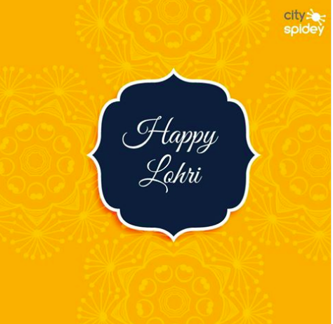 Wish you a very Happy Lohri!