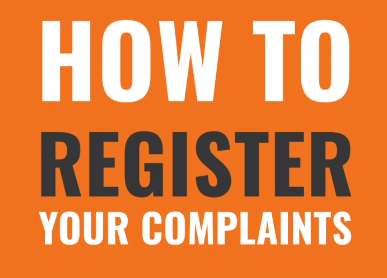 How to Register Your Complaints